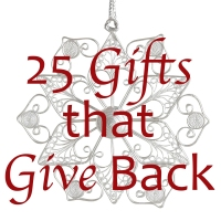 Give Twice As Nice: 25 Gifts that Give Back